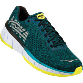 Hoka One One M's Cavu Running Shoes caribbean sea/black